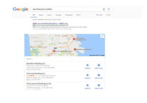 local SEO section
