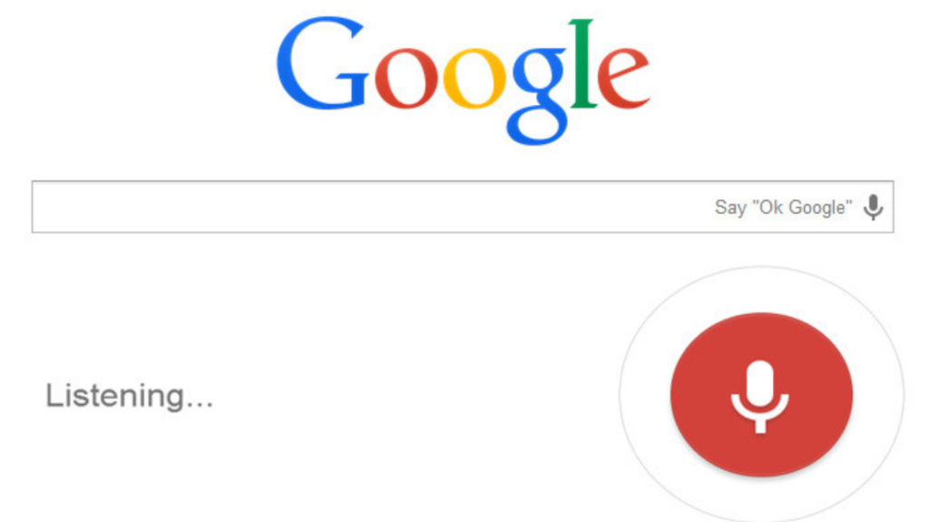Google Page For Voice Search