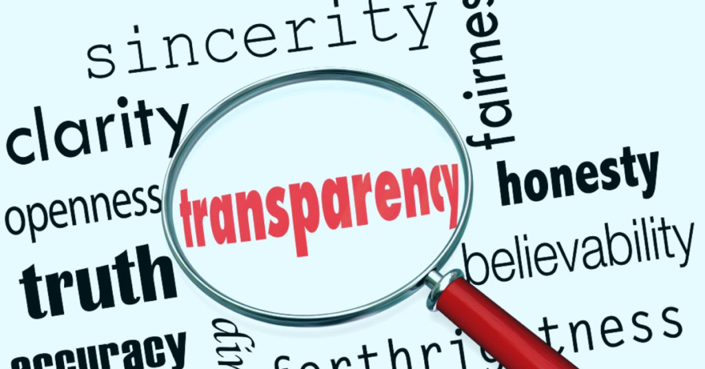 Consumers Look for Transparency