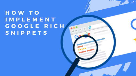 How to implement Google rich snippets