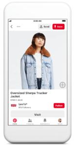 Pinterest for Shopping